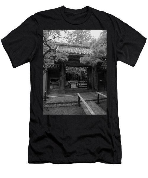 Koto-in Zen Temple Entrance - Kyoto Japan Men's T-Shirt (Athletic Fit)