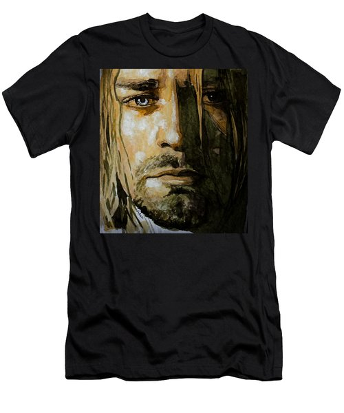 Kurt Cobain Men's T-Shirt (Slim Fit) by Laur Iduc