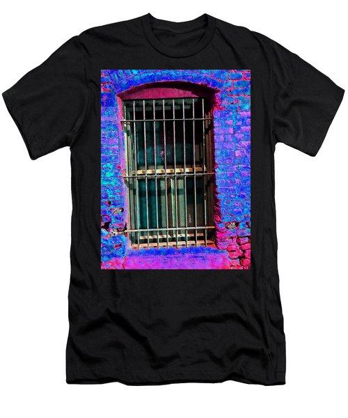 Help Me - L. A. Window Men's T-Shirt (Athletic Fit)