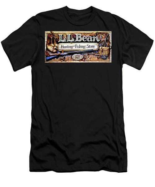L. L. Bean Hunting And Fishing Store Since 1912 Men's T-Shirt (Athletic Fit)