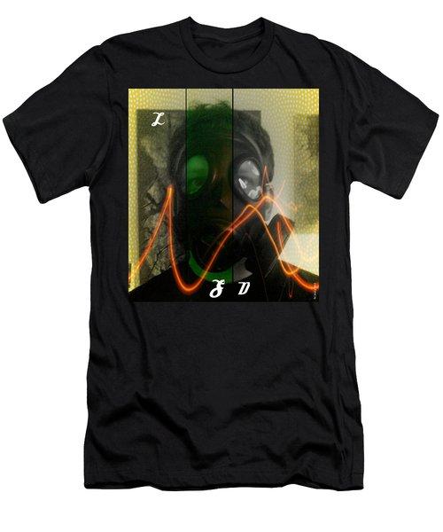 Men's T-Shirt (Slim Fit) featuring the photograph L S D  Part Three by Sir Josef - Social Critic - ART