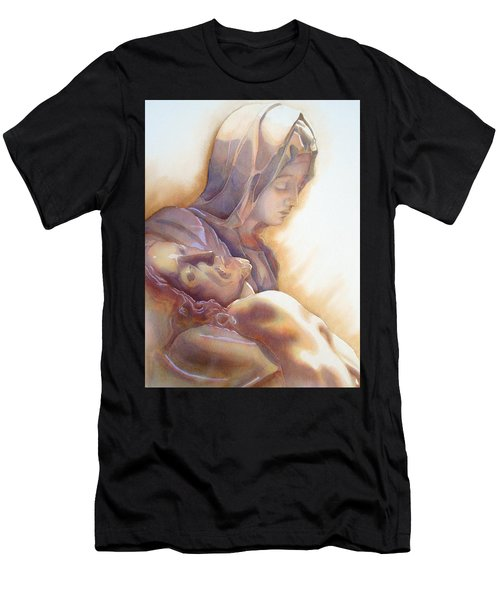 La Pieta By Michelangelo Men's T-Shirt (Athletic Fit)