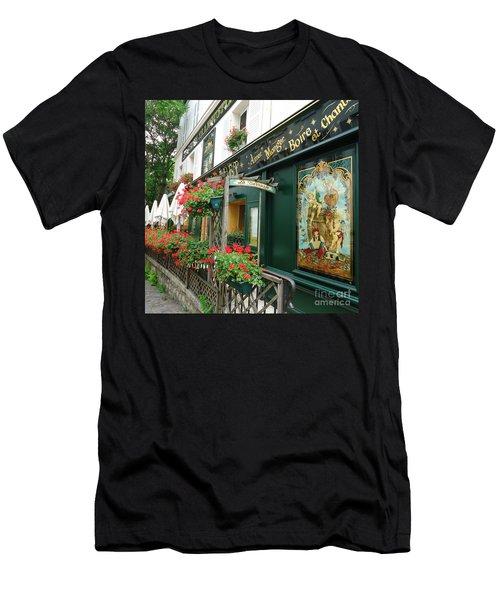 La Terrasse In Montmartre Men's T-Shirt (Athletic Fit)