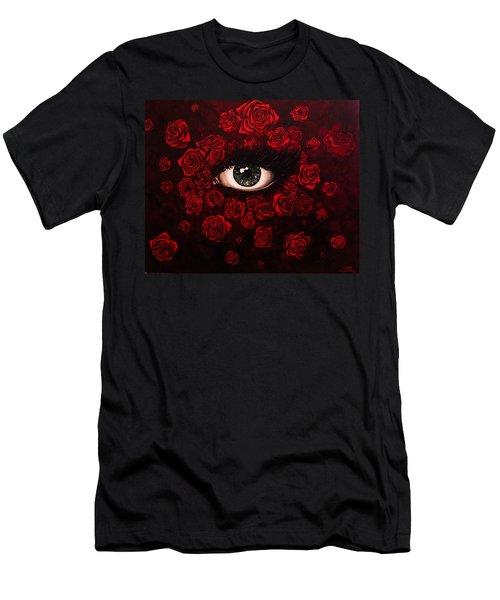 La Vie En Rose Men's T-Shirt (Athletic Fit)