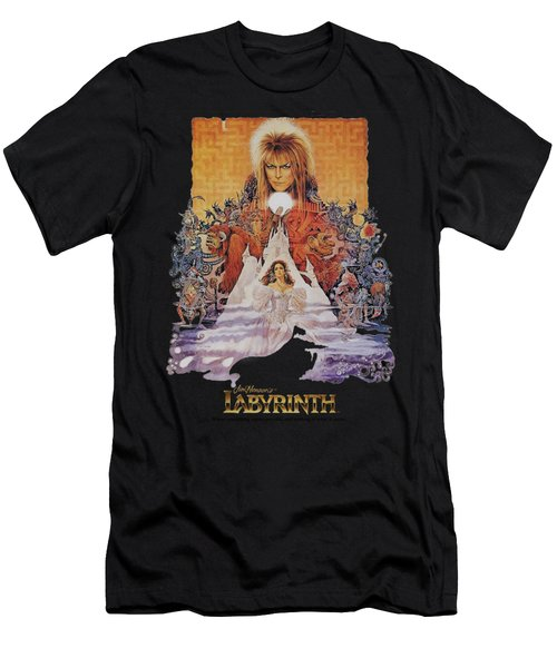 Labyrinth - Movie Poster Men's T-Shirt (Athletic Fit)