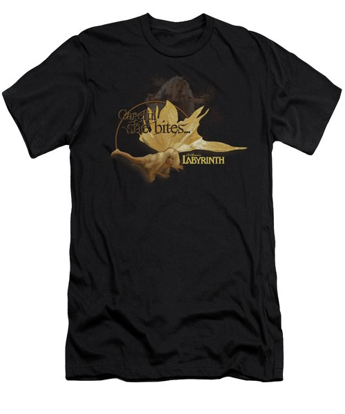 Labyrinth - She Bites Men's T-Shirt (Athletic Fit)