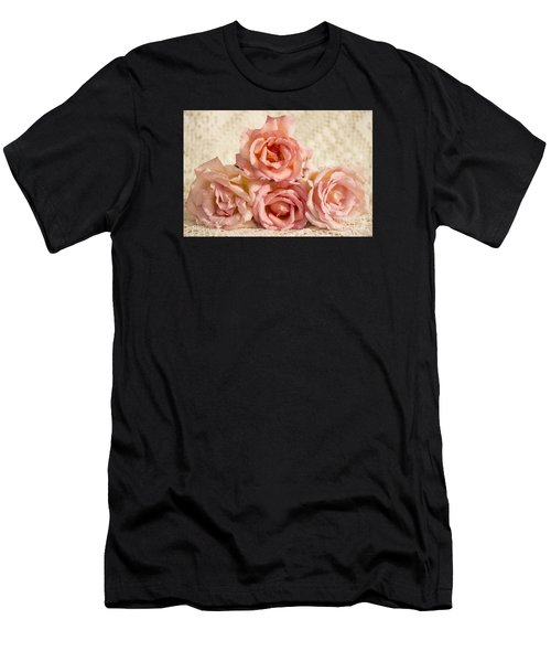 Lace And Roses Men's T-Shirt (Athletic Fit)