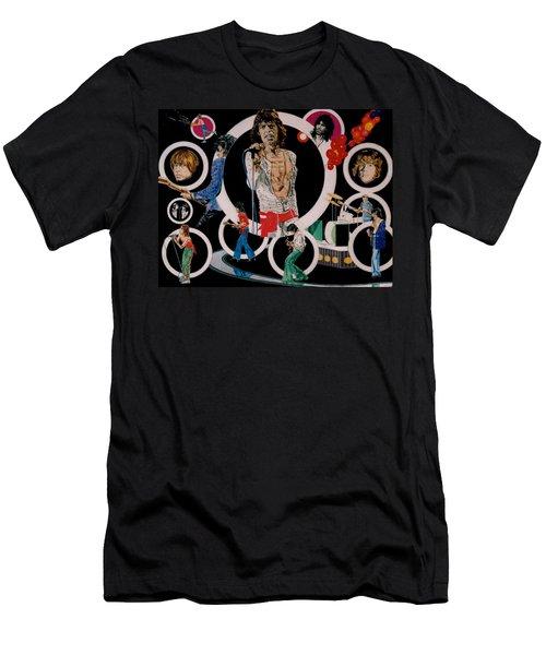 Ladies And Gentlemen -the Rolling Stones Men's T-Shirt (Athletic Fit)