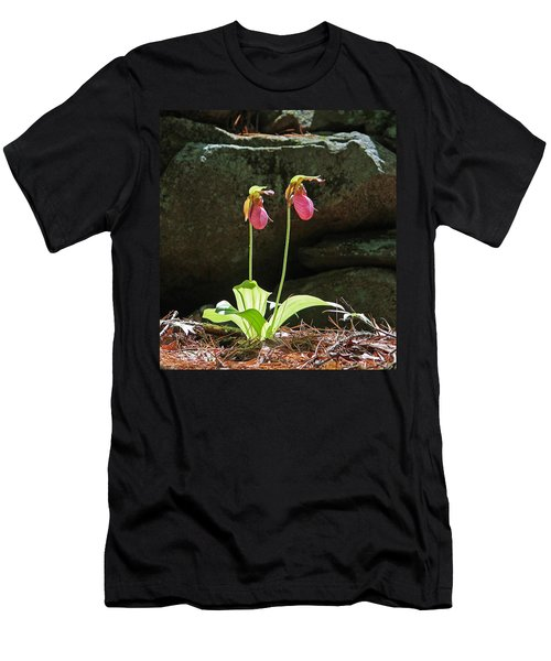 Lady Slippers At Moore State Park 5 Men's T-Shirt (Athletic Fit)