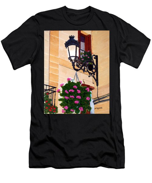 Laguardia Street Lamp  Men's T-Shirt (Athletic Fit)