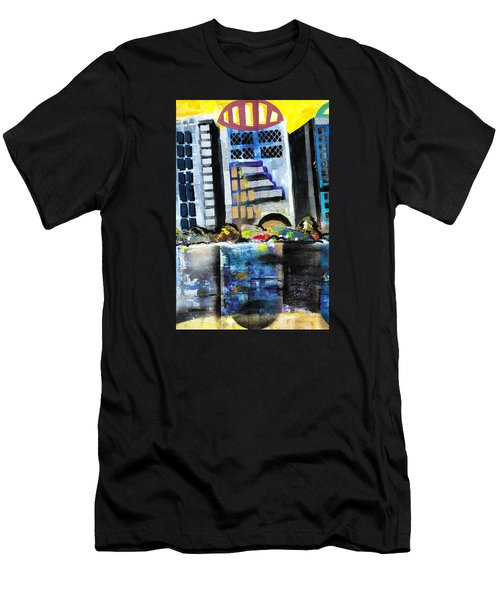 Lake Eola - Part 1 Of 3 Men's T-Shirt (Athletic Fit)