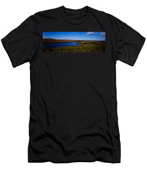 Lake In A Forest, Rock Lake, Algonquin Men's T-Shirt (Athletic Fit)