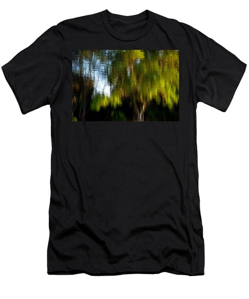 Lake In Green Men's T-Shirt (Athletic Fit)