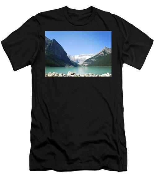 Lake Louise Alberta Canada Men's T-Shirt (Athletic Fit)