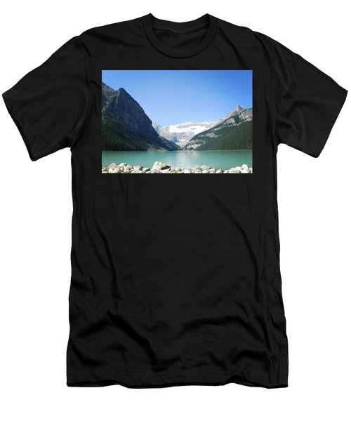 Lake Louise Alberta Canada Men's T-Shirt (Athletic Fit)