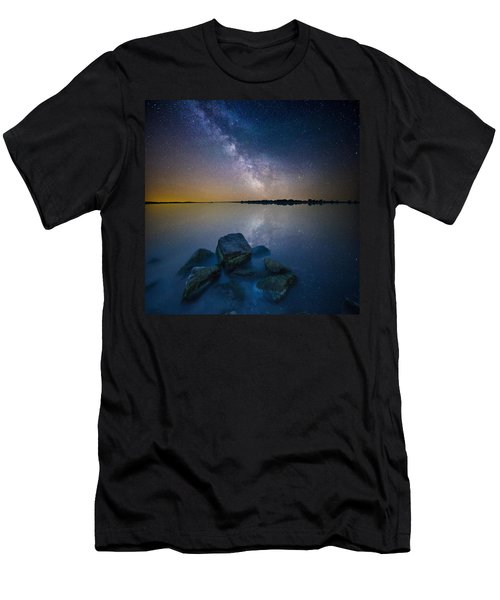 Lake Madison Milky Way Men's T-Shirt (Athletic Fit)