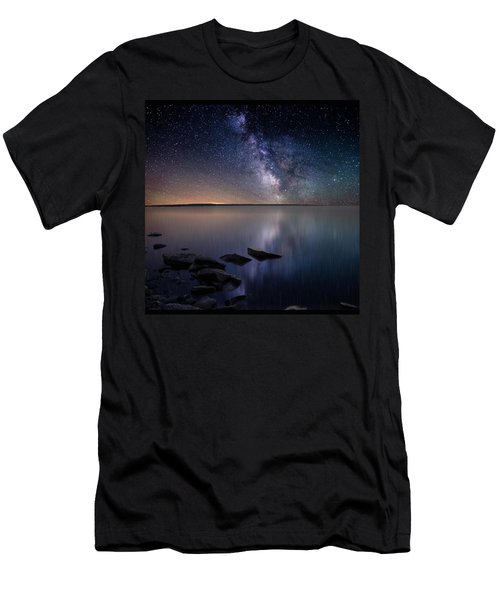 Lake Oahe Men's T-Shirt (Athletic Fit)
