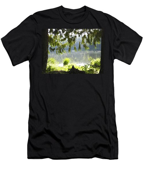 Lake Of Dreams Men's T-Shirt (Slim Fit)