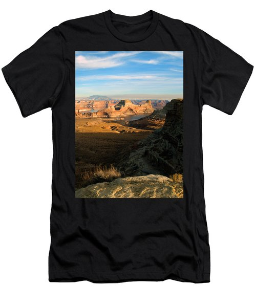 Lake Powell From Alstrum Pt 02 Men's T-Shirt (Slim Fit) by Jeff Brunton
