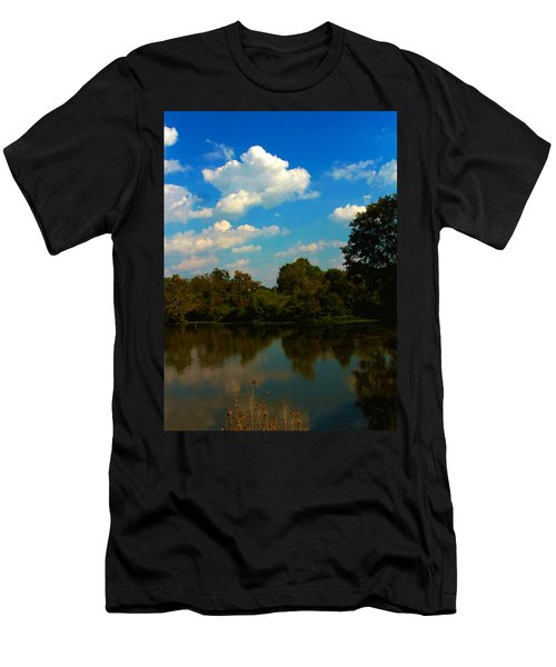 Lake Reflections Men's T-Shirt (Athletic Fit)