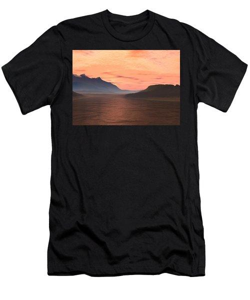 Lake Sunset 1 Men's T-Shirt (Athletic Fit)