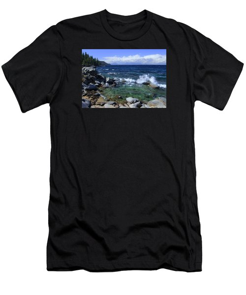 Men's T-Shirt (Slim Fit) featuring the photograph Lake Tahoe Wild  by Sean Sarsfield