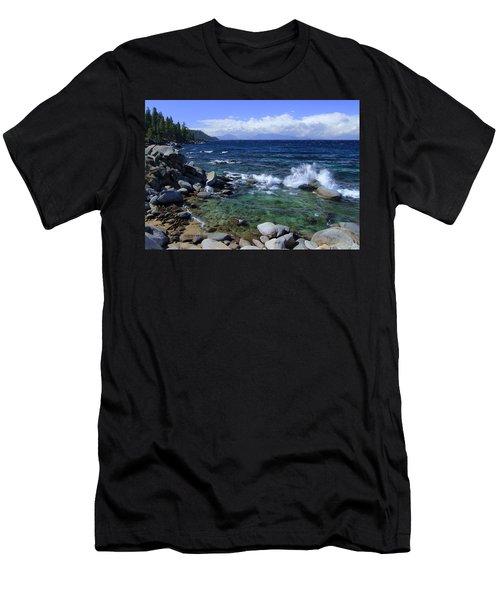 Lake Tahoe Wild  Men's T-Shirt (Athletic Fit)
