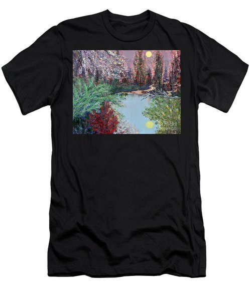 Lake Tranquility Men's T-Shirt (Athletic Fit)