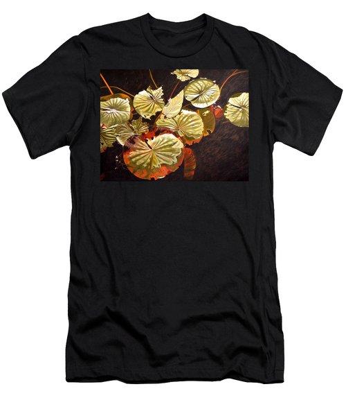 Lake Washington Lily Pad 11 Men's T-Shirt (Slim Fit)