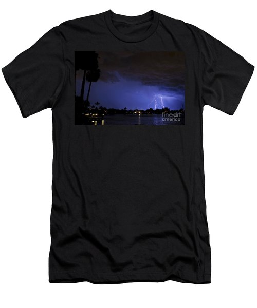 Lake Weatherly  Men's T-Shirt (Athletic Fit)