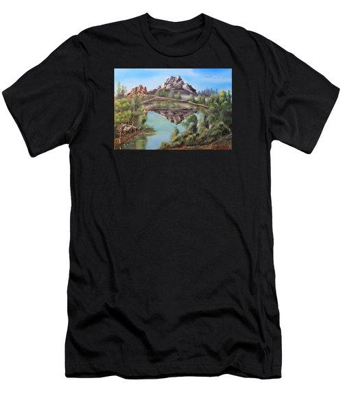 Lakehouse Men's T-Shirt (Athletic Fit)
