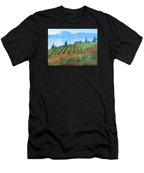 Lakeside Vineyard Men's T-Shirt (Athletic Fit)