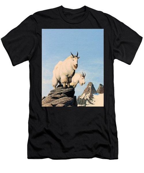 Lamoille Goats Men's T-Shirt (Athletic Fit)