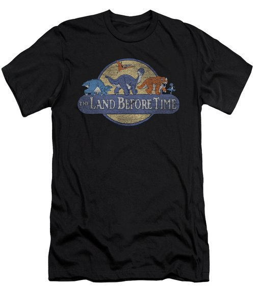 Land Before Time - Retro Logo Men's T-Shirt (Athletic Fit)