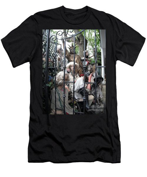 Men's T-Shirt (Slim Fit) featuring the photograph Land Of The Free  #2  by Susan Carella