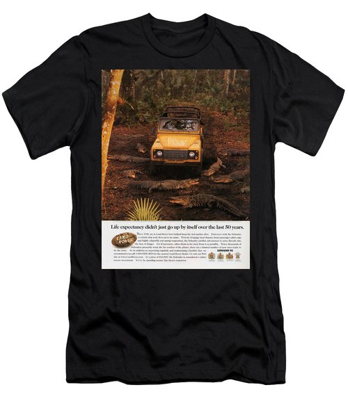 Land Rover Defender 90 Ad Men's T-Shirt (Athletic Fit)
