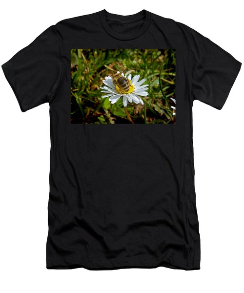 Men's T-Shirt (Slim Fit) featuring the photograph Landed by Nina Ficur Feenan