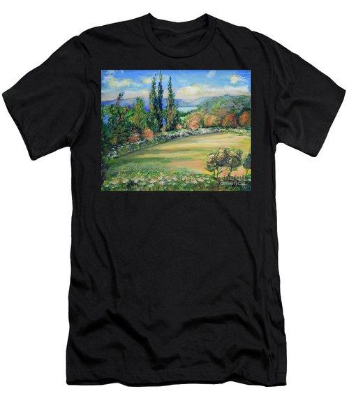 Landscape From Kavran Men's T-Shirt (Athletic Fit)