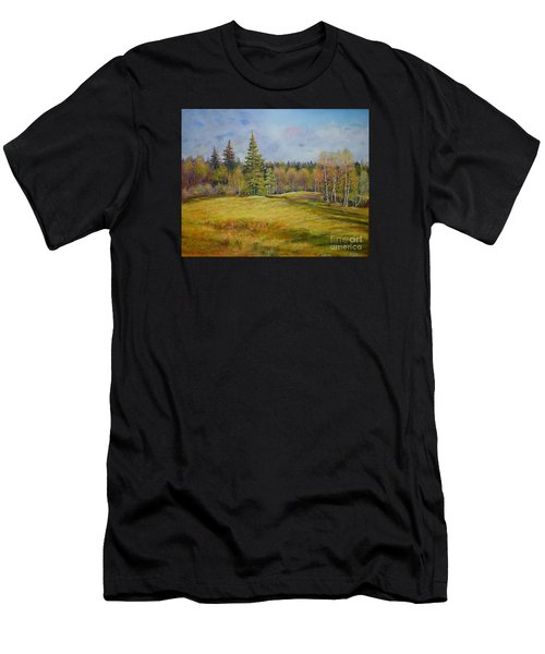 Landscape From Pyhajarvi Men's T-Shirt (Athletic Fit)