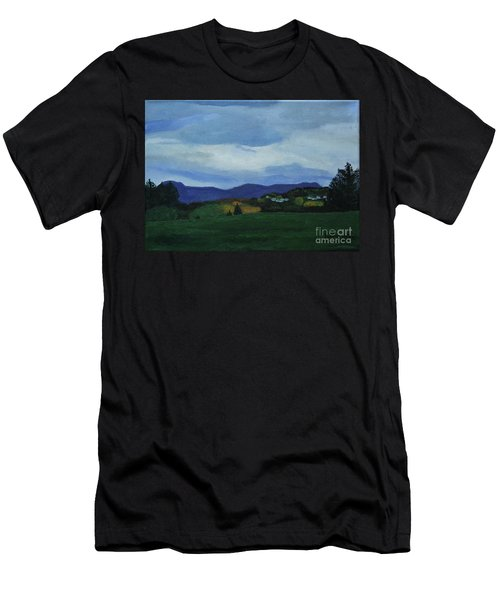 Landscape Of Sola Norway Men's T-Shirt (Athletic Fit)