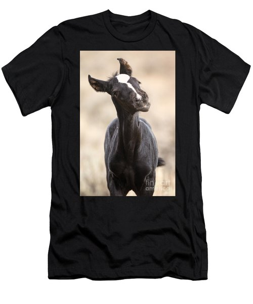 Lansa - A Wild Mustang Colt Men's T-Shirt (Athletic Fit)