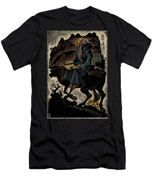 Men's T-Shirt (Slim Fit) featuring the photograph Laozi, Ancient Chinese Philosopher by Science Source