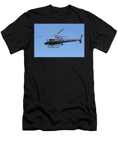 Lapd In Flight Men's T-Shirt (Athletic Fit)