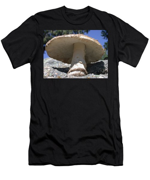 Large Mushroom Men's T-Shirt (Athletic Fit)