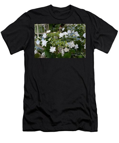 Men's T-Shirt (Slim Fit) featuring the photograph Shooting Star Bouquet by Jeannie Rhode