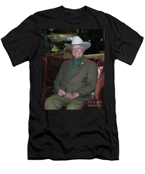 Larry Hagman Men's T-Shirt (Athletic Fit)