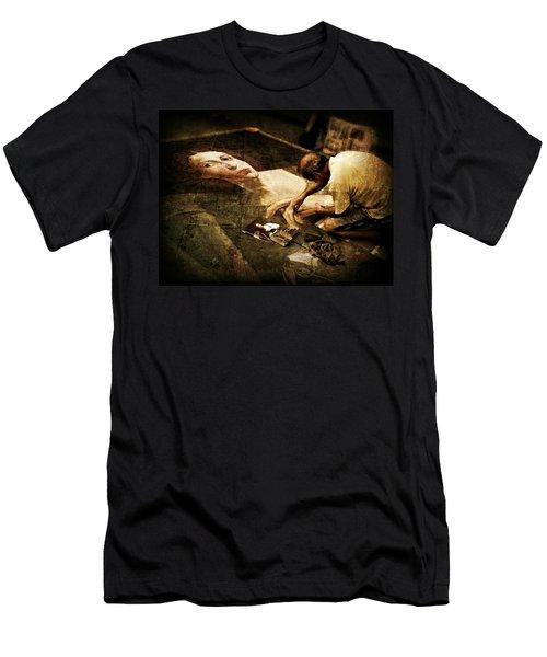 L'artista Di Strada Men's T-Shirt (Athletic Fit)