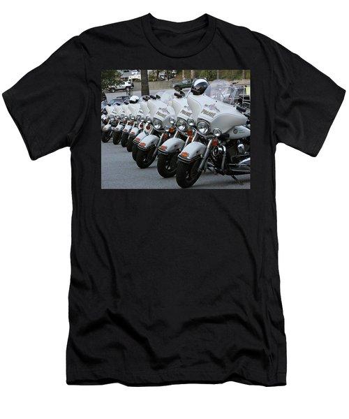 Men's T-Shirt (Slim Fit) featuring the photograph La's Finest by Shoal Hollingsworth