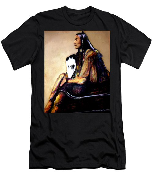 Last Comanche Chief Men's T-Shirt (Athletic Fit)