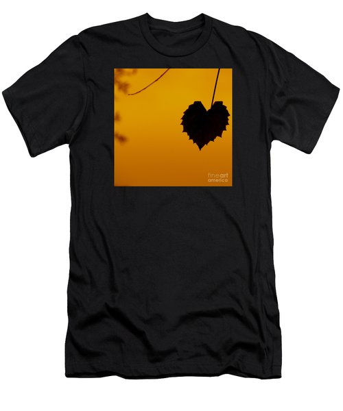 Last Leaf Silhouette Men's T-Shirt (Athletic Fit)